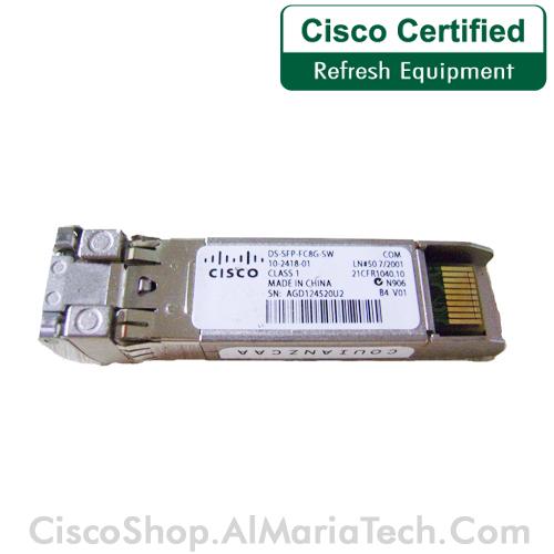 CISCO DS-SFP-FC4G-SW= 4 Gbps Fibre Channel-SW SFP spare LC