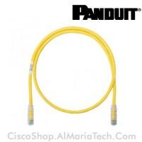 PAN-UTP-6-01M-YEL-2RJ45